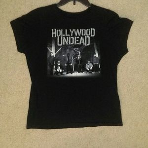 Hollywood Undead Women's Babydoll Tee Shirt
